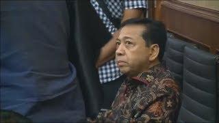 Breaking News! Sidang Eksepsi Setya Novanto dalam Kasus Korupsi eKTP; Setnov dan KPK