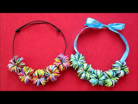 how to make a pom pom loom band