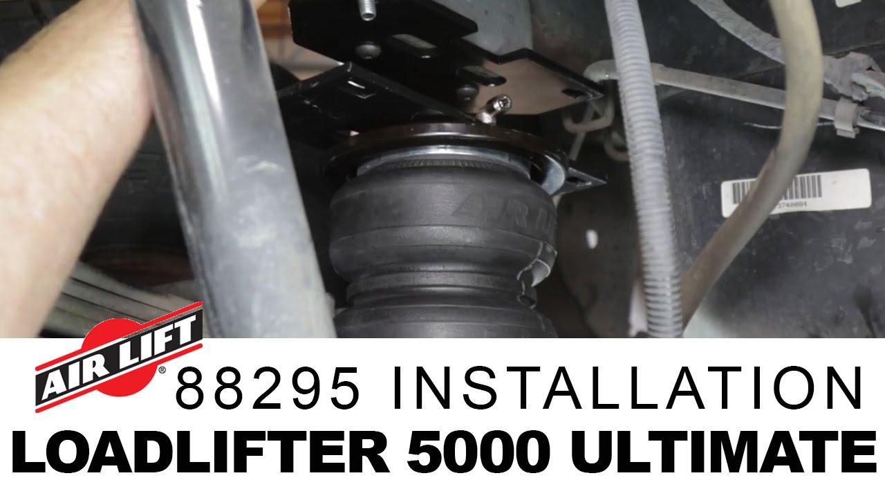 Air Lift 88291 LoadLifter 5000 Ultimate Air Spring Kit with Internal Jounce Bumper