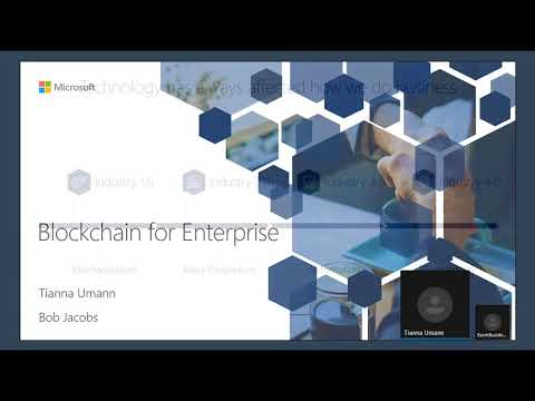 March 2018 Business Applications Partner Community call about Blockchain