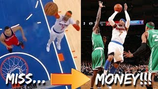 "NBA ""EASY SHOTS MISSED, DIFFICULT SHOTS MADE!"" Moments Part 2"