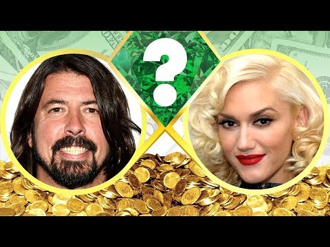 WHO'S RICHER? - Dave Grohl or Gwen...