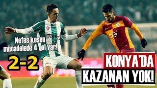 Konyaspor 2-2 Galatasaray | Maçın Öyküsü (Ziraat Türkiye Kupası Çeyrek Final 1.Maç)