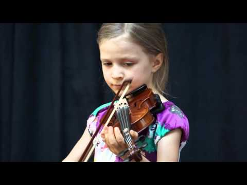 "Purcell ""Rigaudon"" violin --- Christina Joy (6yr)"