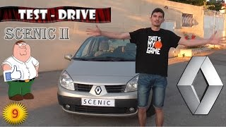 Тест - драйв Renault scenic II (2) обзор (PitStopMD)