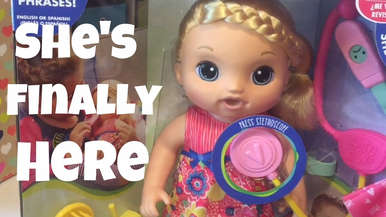 2017 Baby Alive Sweet Tears Brand New Doll Box Opening