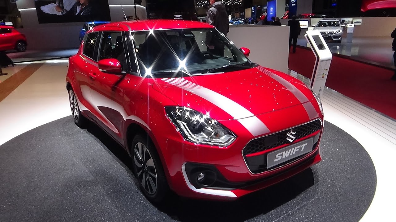 2018 suzuki cars. exellent suzuki 2018 suzuki swift boosterjet shvs mild hybrid  exterior and interior  geneva motor show 2017 for suzuki cars o