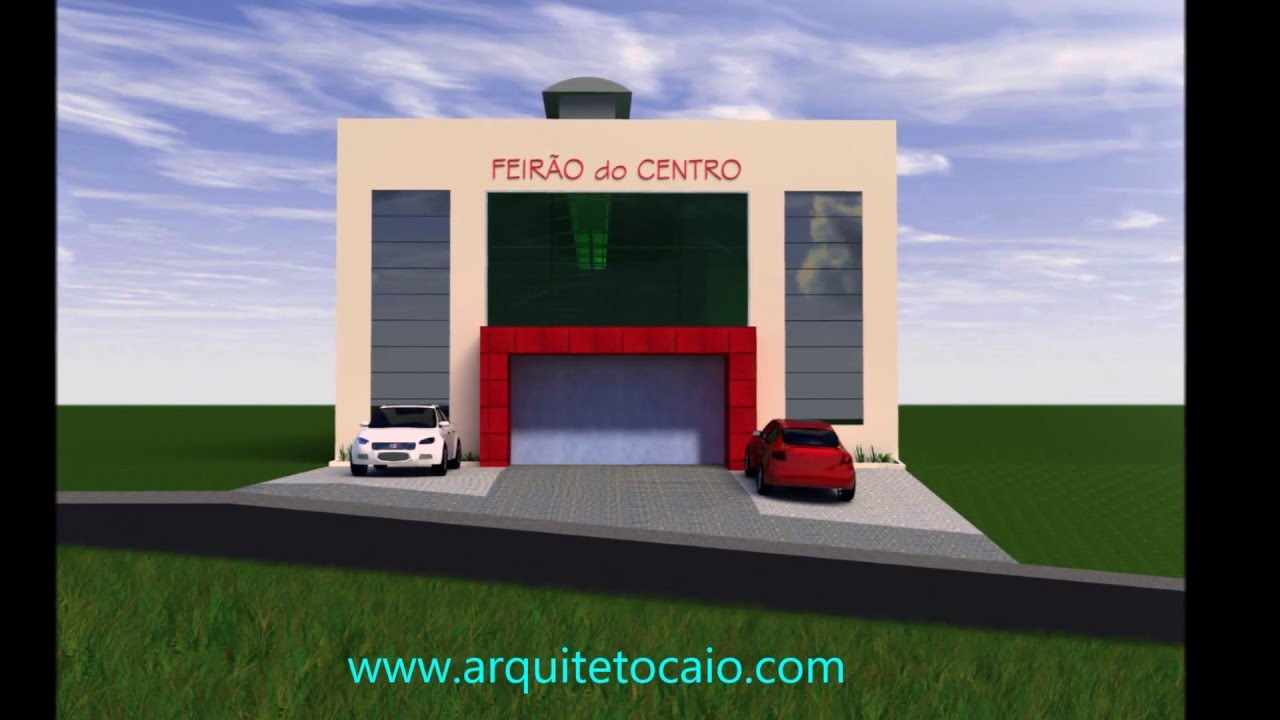 Projeto de galeria comercial de lojas populares www - Galeria comercial ...