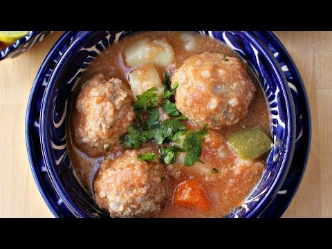 Caldo De Albóndigas Mama Maggie S Kitchen Youtube