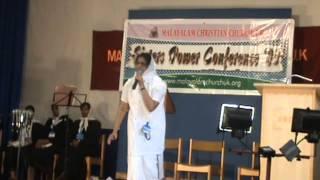 malayalam  message by sr susan thomas !! sisters power conferance @ malayalam christian church.wmv