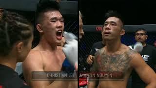 Martin Nguyen vs Christian Lee 18 May 2018. rd 3 4 5 Martin Nguyễn với christian Lee