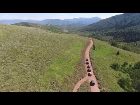 Canyon Run - Fun Jeeping in American Fork Canyon