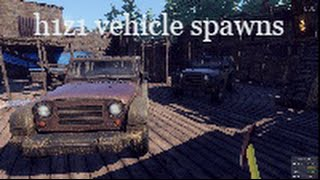 H1Z1 vehicle spawns 1080p.