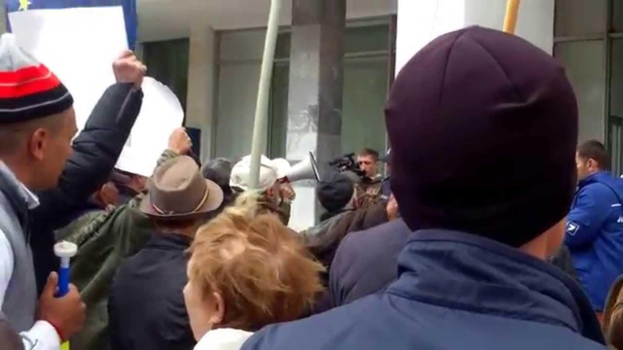 L-au huiduit pe ministrul Chirinciuc #PlatformaDA