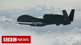A look at Nato's new spy drones - BBC News