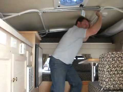 Open Standard Camper Lift Youtube