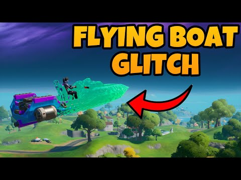 How To FLY BOATS In FORTNITE CHAPTER 2 *GLITCH*