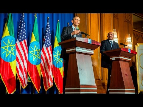 The President and Prime Minister of Ethiopia hold a Joint Press Conference