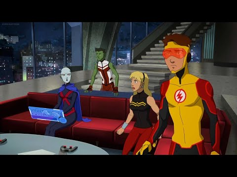 Young Justice 3x17 - The New Team