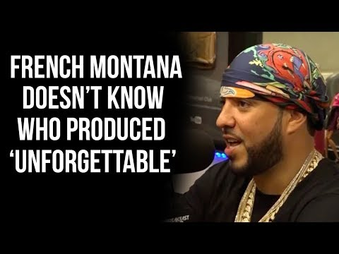 Sonny Digital Gets Mad At French Montana For Not Knowing Who Produced 'Unforgettable'
