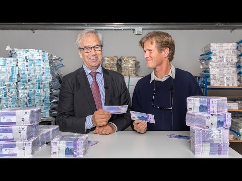 Unboxing Of The New 1000-krone Banknote