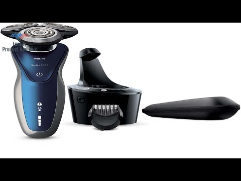 Philips Norelco Electric Shaver 8900 with SmartClean Wet & Dry Edition S8950/90