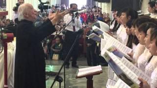 Bài tình ca - sáng tác & chỉ huy Linh mục Kim Long- hợp xướng ca đoàn Thánh tâm Gx.Báo Đáp