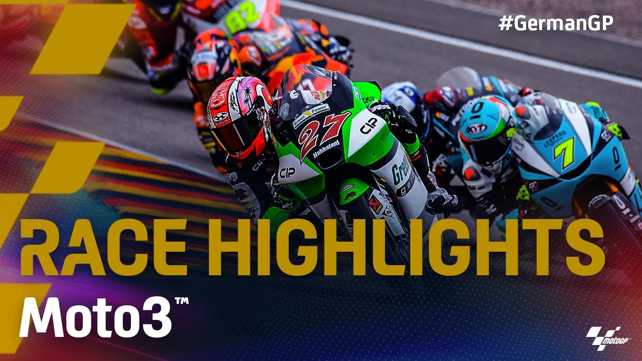 Moto3™ Race Highlights | 2021 #GermanGP