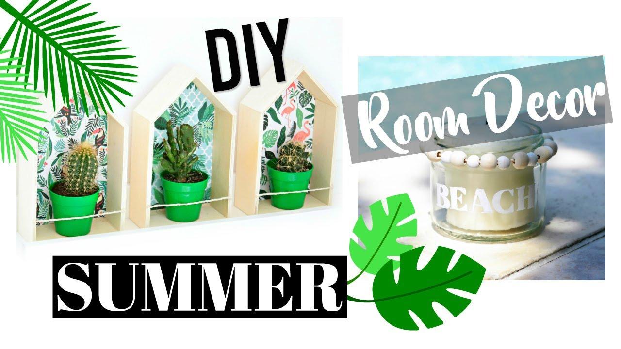 DIY d\'été : Deco Chambre / Summer Room Decor (français) - YouTube