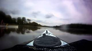 Kayaking on the Hamble River
