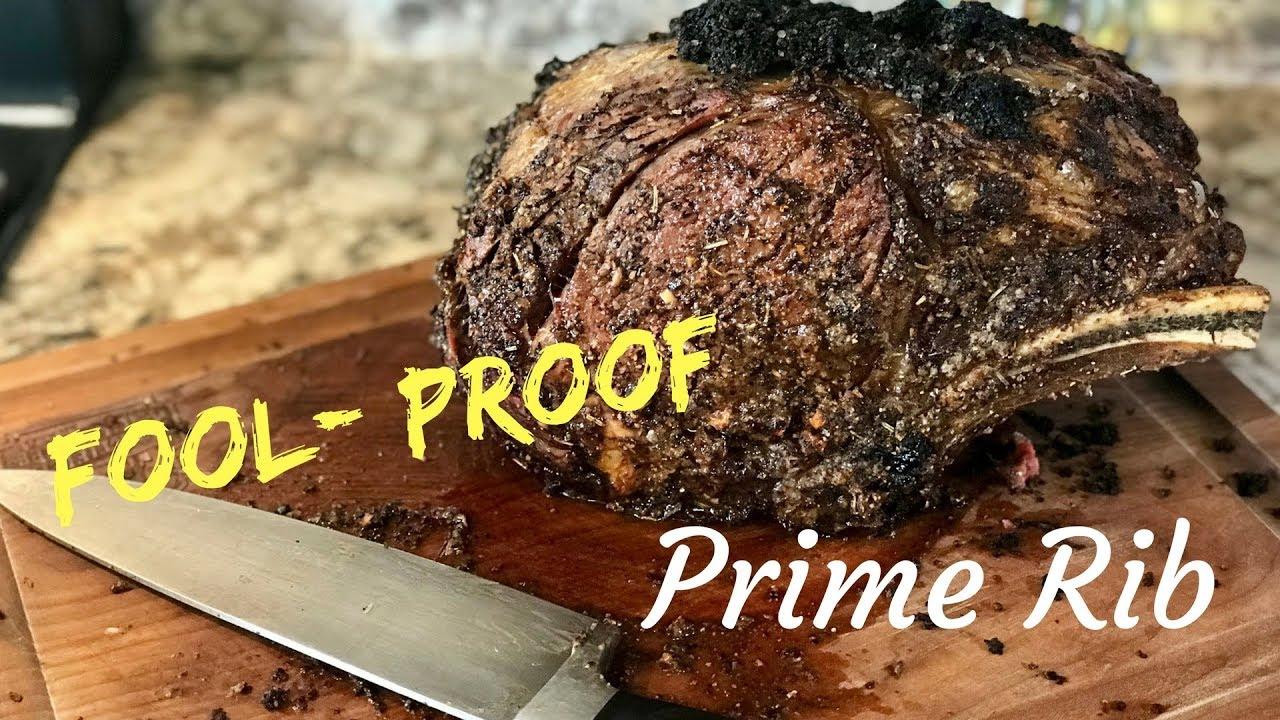 Fool Proof Prime Rib Youtube