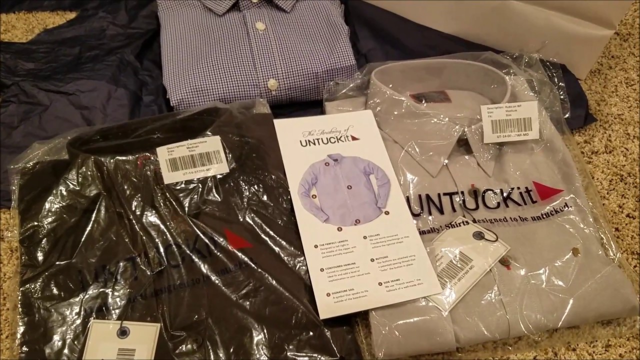 UNTUCKit Dress Shirts Designed to be worn Untucked Review ...