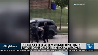 Protests erupt after Black man shot in back by Wisconsin police An emergency curfew has been extended for a second night in Kenosha, Wisconsin after protests broke out over the police shooting of Jacob Blake, a Black ..., From YouTubeVideos