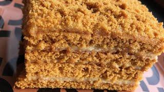 Медовый торт Մեղրով տորթ
