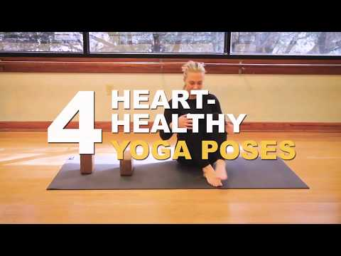 4 Heart-Healthy Yoga Poses