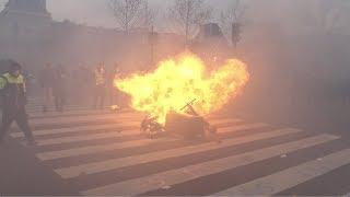 Gilets jaunes Acte 12 : la manifestation des blessés dégénère (2 février 2019, Paris)