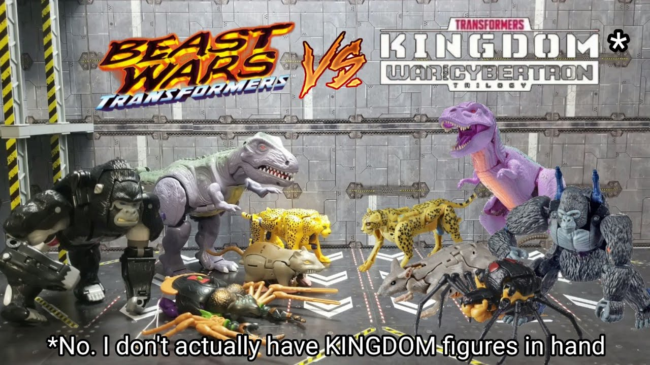 1996 Beast Wars vs WFC: Kingdom By Kato's Kollection