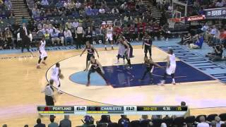 Portland Trail Blazers vs Charlotte Bobcats | March 22, 2014 | NBA 2013-14 Season