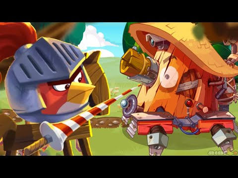 Angry Birds Epic - New World Boss Tinker Titan!