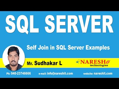 Self Join in SQL Server Examples | MSSQL Training Tutorial