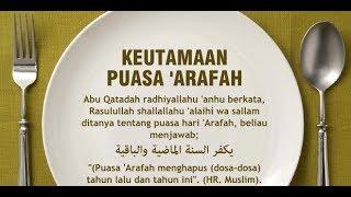 Subhanallah!! Niat Puasa Sunnah Arafah dan Manfaatnya