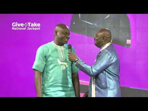 Mr. Nelson Ogbah won N1.2M and Mr.Eric Boateng won N1.3M in the Give'n'Take National Lottery. Play w