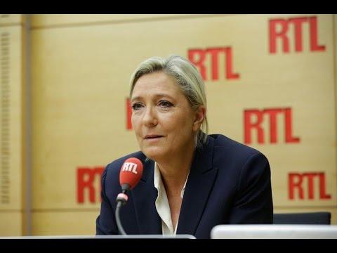 """Marine Le Pen : """"Nicolas Sarkozy a commis une faute considérable en baissant volontairement les e..."""