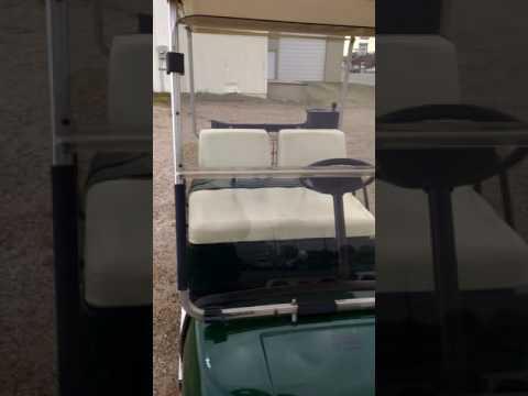 2000 Yamaha golf cart chrome wheels gas Online Auction