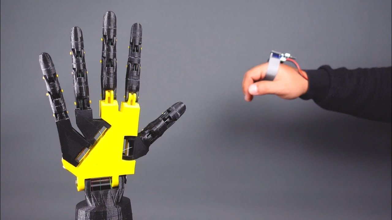 The Accelerometer Hand Controller (Robot Hand and Tank Control)