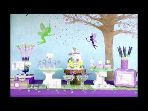 Idéias de decoração de festa tema Tinker Bell