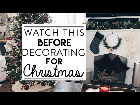 CHRISTMAS DECORATING | Watch this BEFORE You Start Decorating for Christmas!!