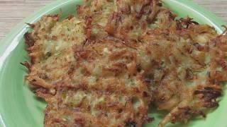 Как приготовить драники из кабачка и картофеля