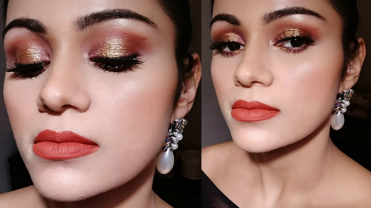 आसान पार्टी मेकअप EASY Party Makeup For EVERY OCCASION Tutorial In HINDI