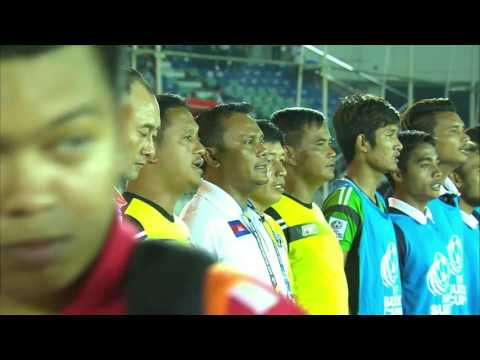 Cambodia vs Myanmar (AFF Suzuki Cup 2016: Group stage)